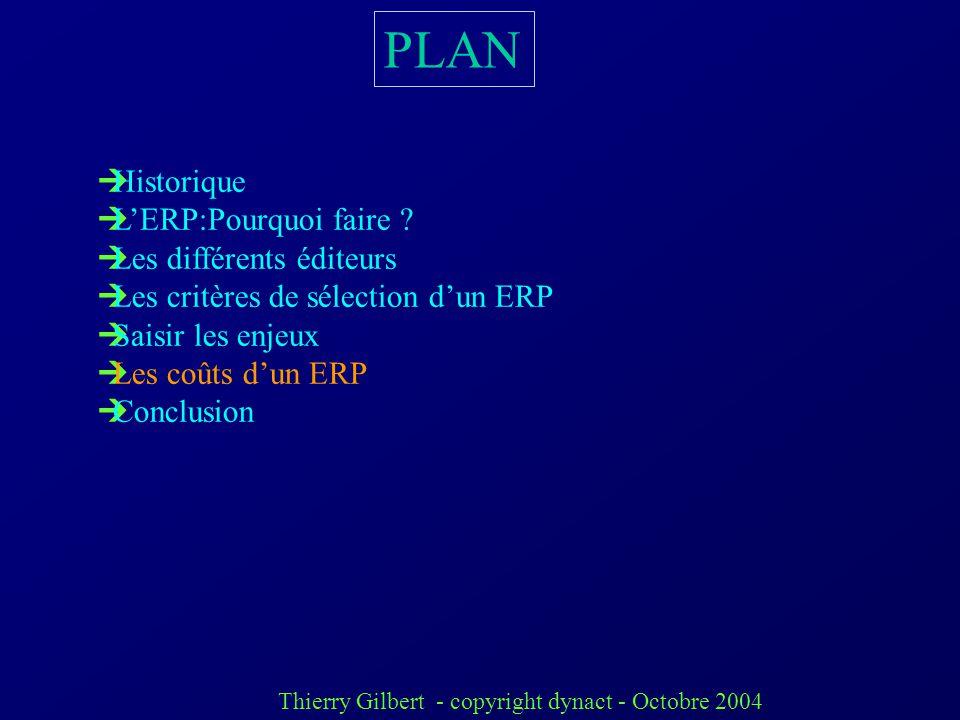 Thierry Gilbert - copyright dynact - Octobre 2004 4) Les difficultés de mise en œuvre (ou pièges a éviter). cahier des charges bâclé états papier non