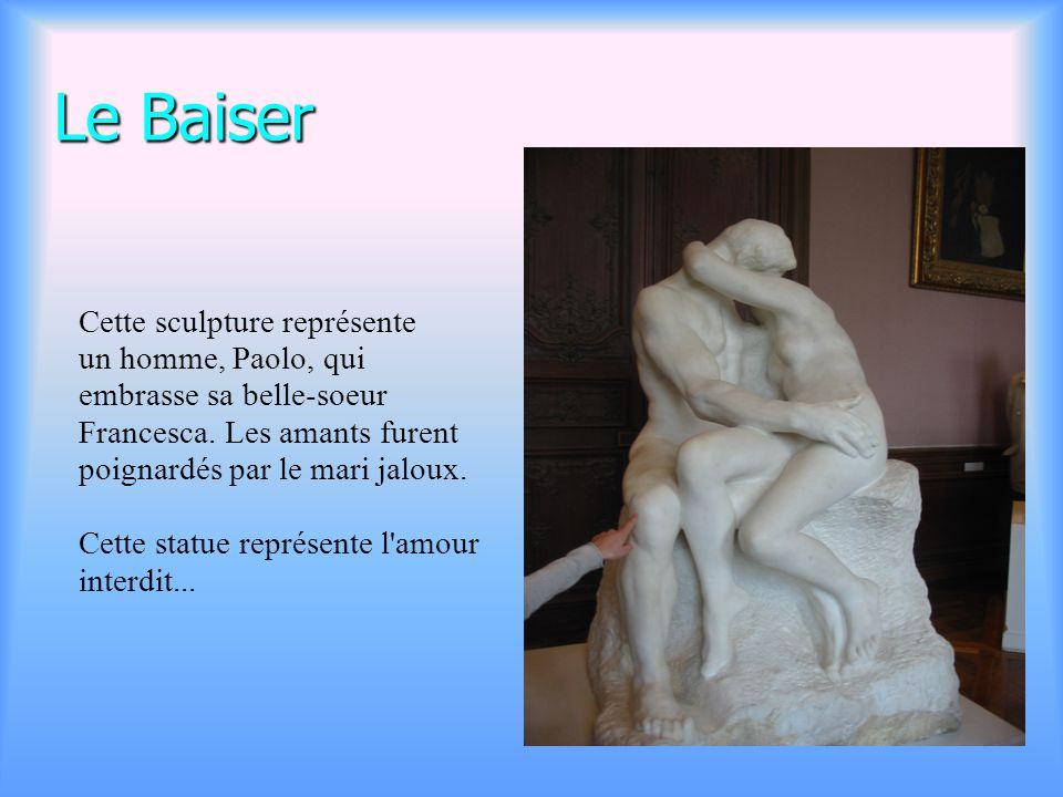 Visite du musée Rodin à Paris Voici une vue extérieure du musée Rodin. L' hôtel Biron a été trans- formé en musée par l'Etat français en échange de to