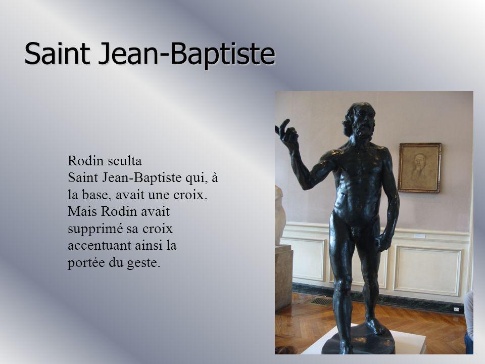 L'âge d'airain Cette statue s'appelle « l'Age d'airain ». C'est cette statue qui a fait connaître Rodin, car à l'époque on pensait qu'il avait triché