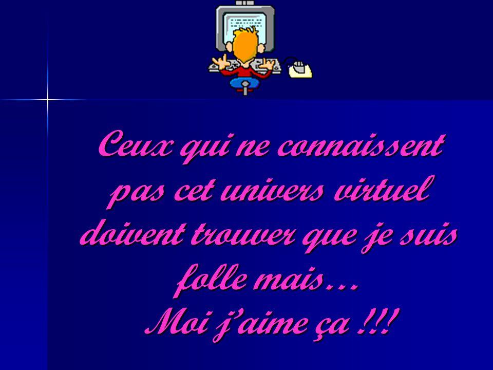 Ceux qui ne connaissent pas cet univers virtuel doivent trouver que je suis folle mais… Moi jaime ça !!!