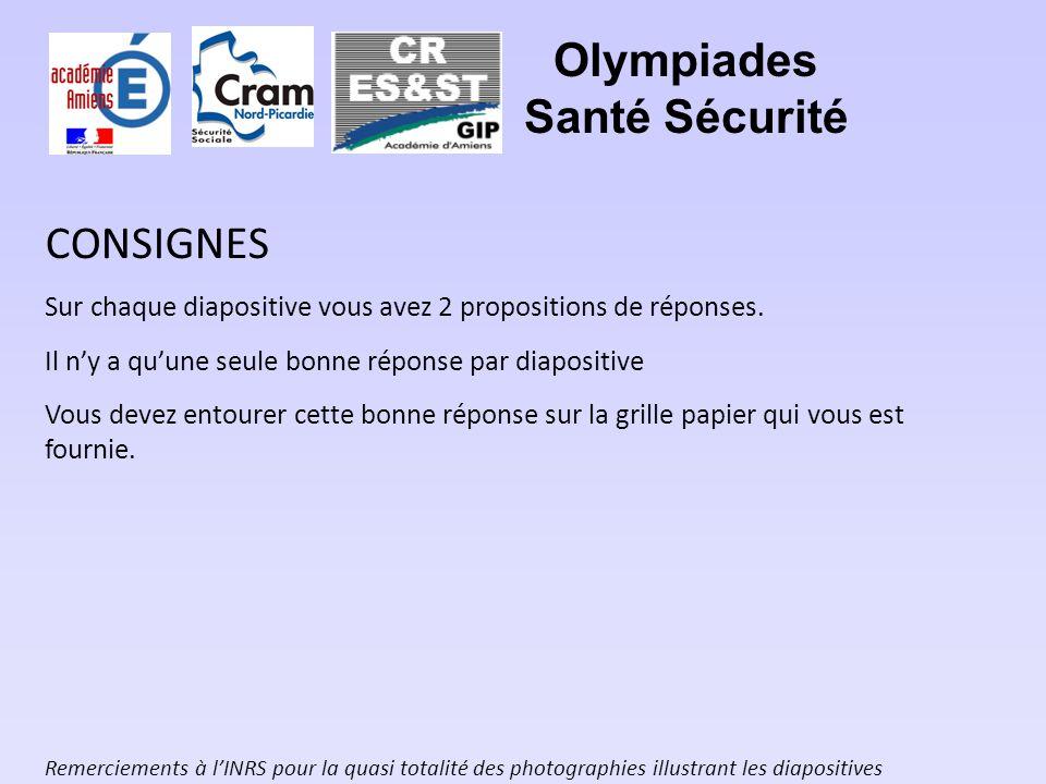 Olympiades Santé Sécurité (Chiffres relatifs au Régime Général de Sécurité Sociale) Question subsidiaire 1 En 2007, combien y a-t-il eu daccidents de travail mortels dans les activités de la Métallurgie.