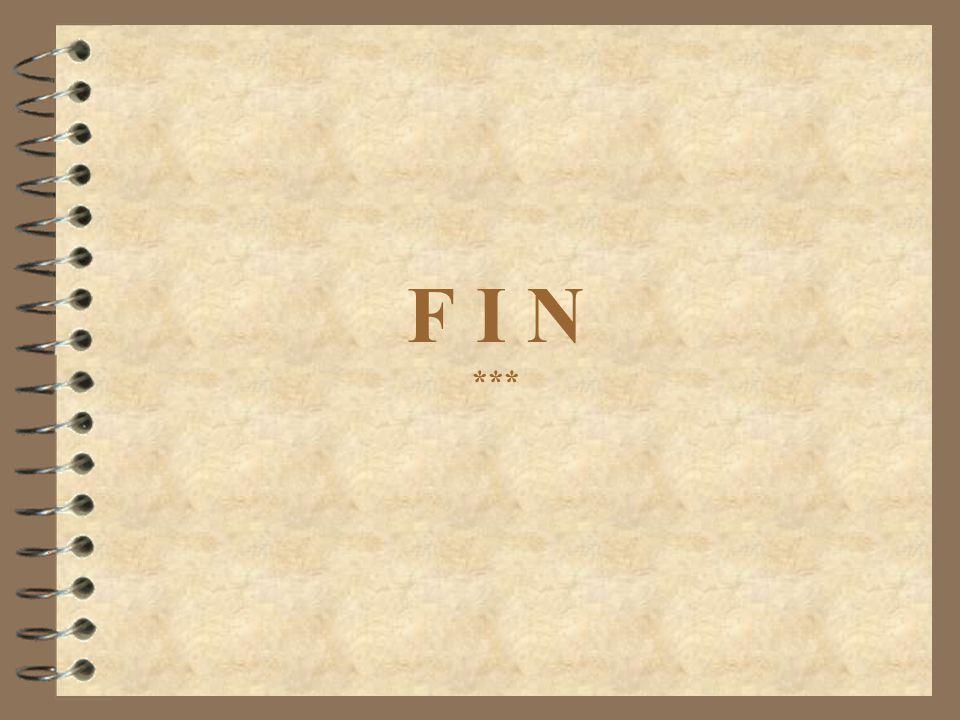 F I N ***