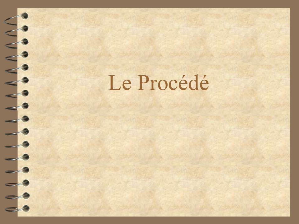 Le Procédé