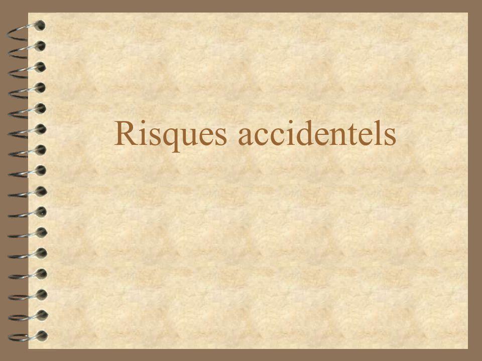 Risques accidentels