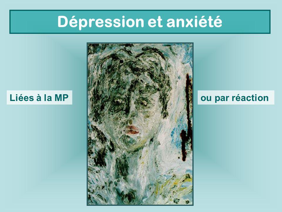 Dépression et anxiété Liées à la MPou par réaction