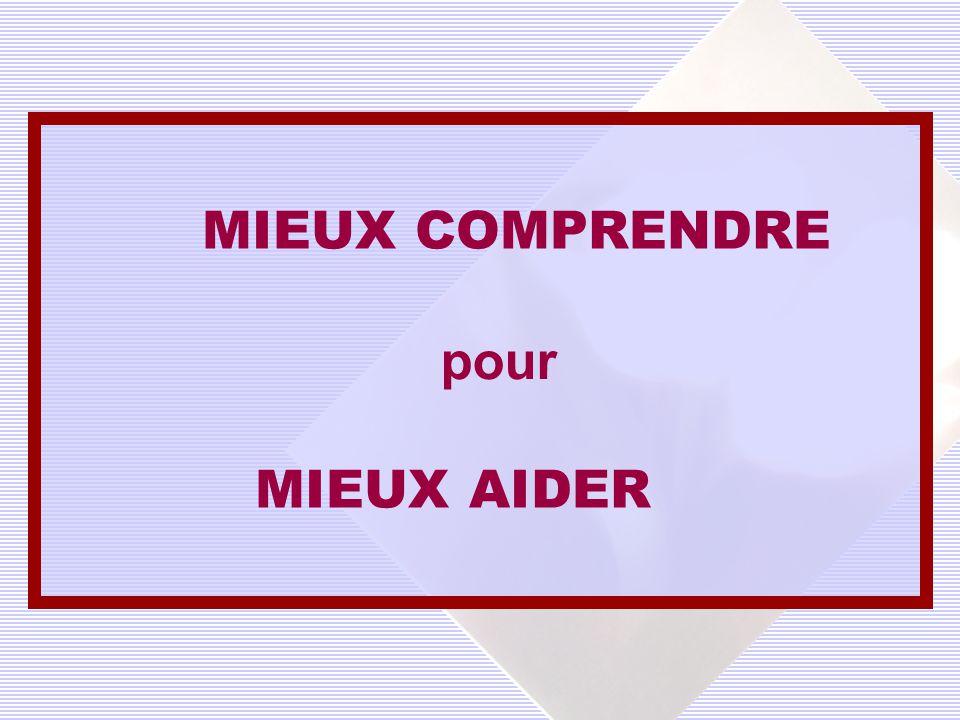 MIEUX AIDER MIEUX COMPRENDRE pour