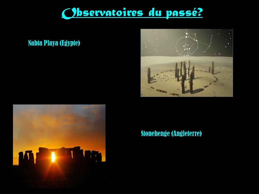 Observatoires du passé? Nabta Playa (Egypte) Stonehenge (Angleterre)