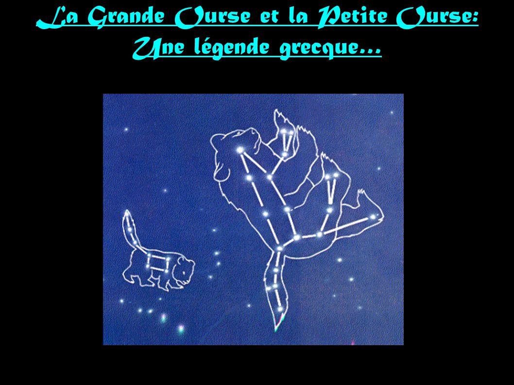 La Grande Ourse et la Petite Ourse: Une légende grecque…