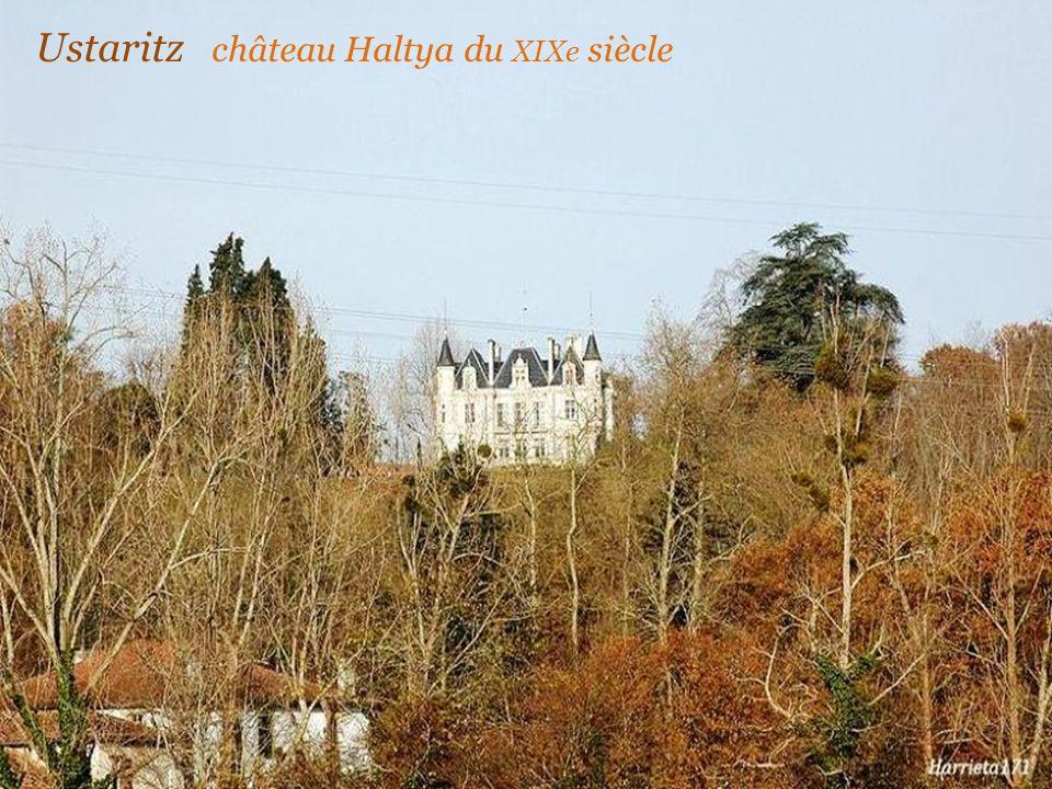 Ustaritz château Lota. du XIXe siècle