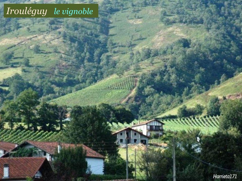 Irouléguy léglise du village
