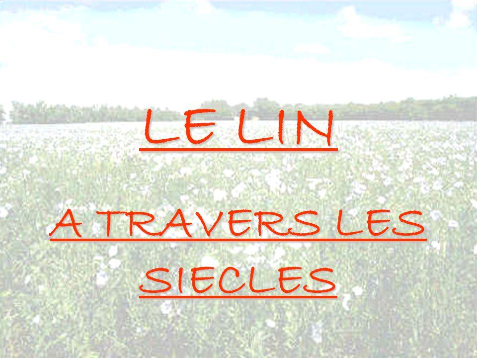 LE LIN A TRAVERS LES SIECLES