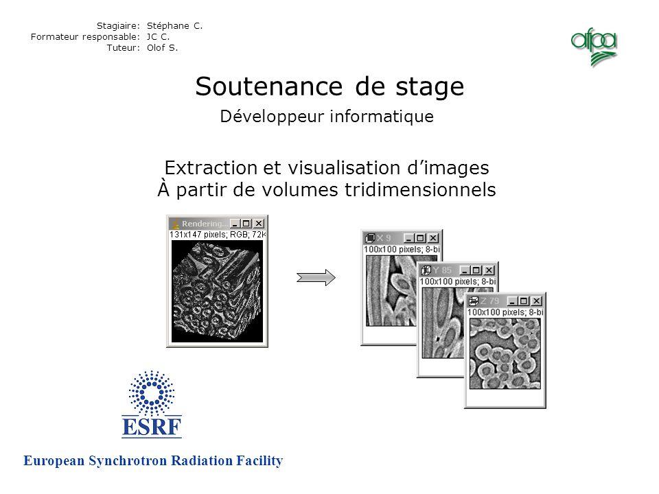 Vues de type couches Vues de type volumes Couches – accès direct Cf. rapport page 24-25