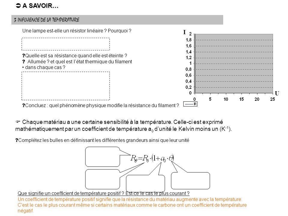 Exercice 1 :Exercice 2 : Une rallonge de 5 m est composée de deux conducteurs de cuivre de 0,75 mm 2 de section.