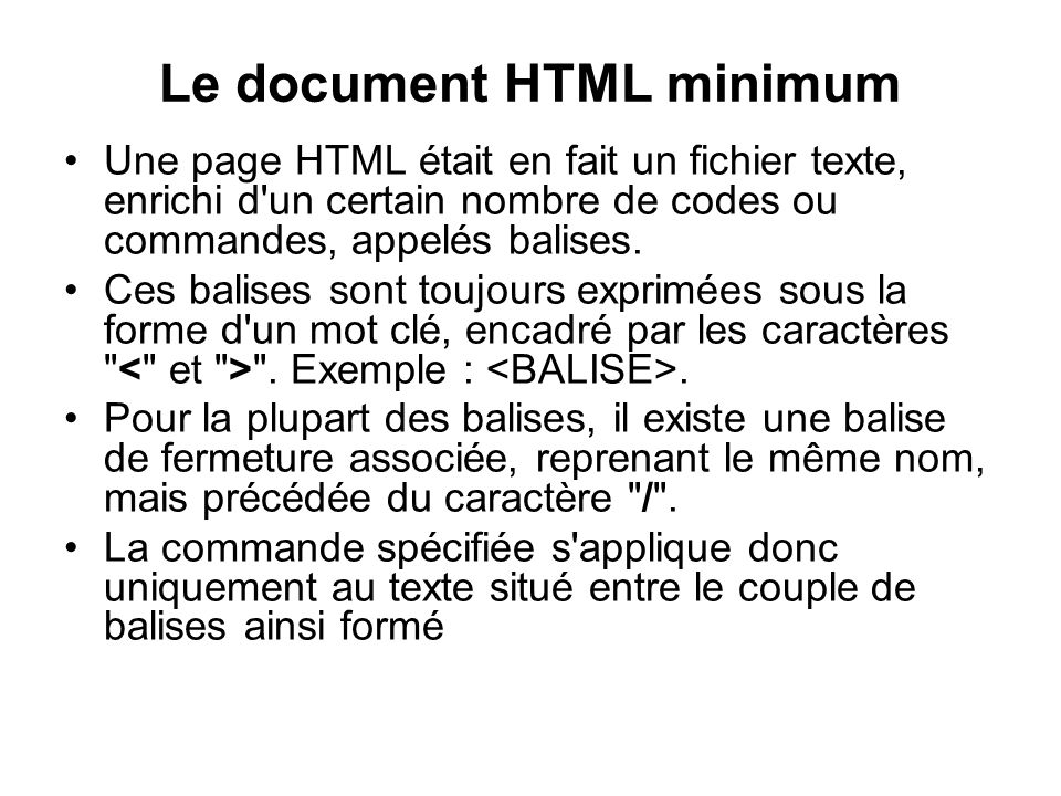 Exemple 9 Titre du document texte simple élément 1, élément 2, élément 3. Exécuter