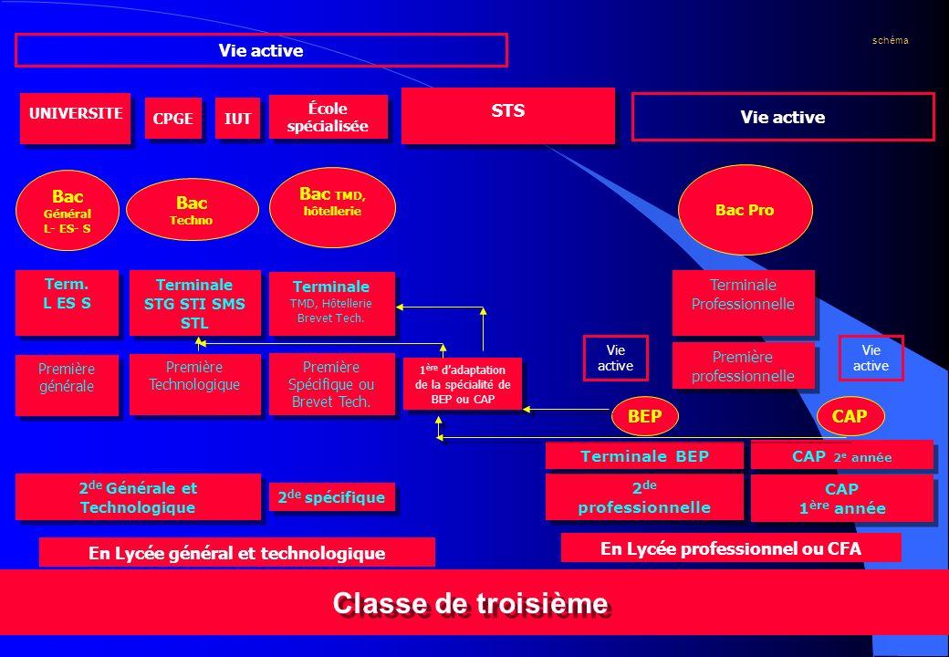 CIO de MEAUX septembre 20045 Classe de troisième 2 de professionnelle 2 de professionnelle 2 de Générale et Technologique 2 de Générale et Technologiq