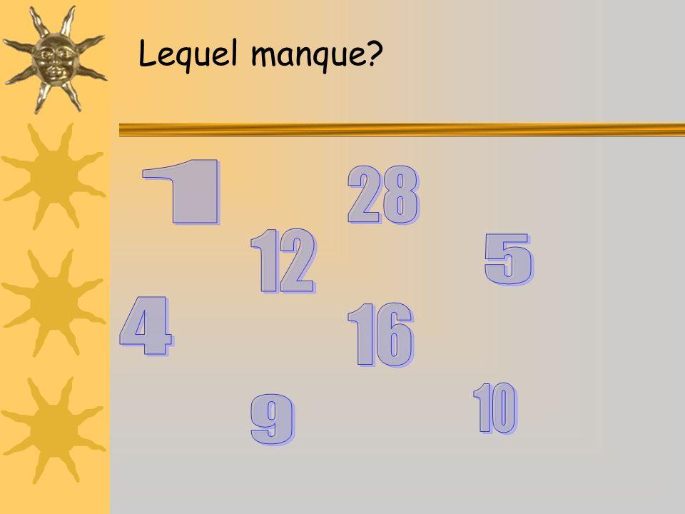 12 6 93 1 2 4 57 8 10 11 Il est…… et demie cinq vingt ET quart vingt-cinq