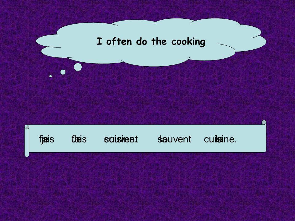 Un peu de français