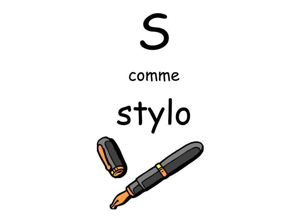 S comme stylo