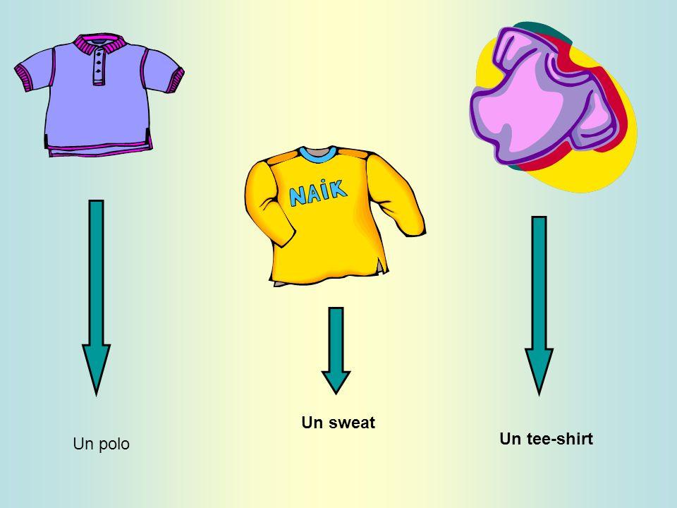 Un polo Un sweat Un tee-shirt