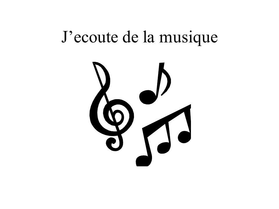Jecoute de la musique