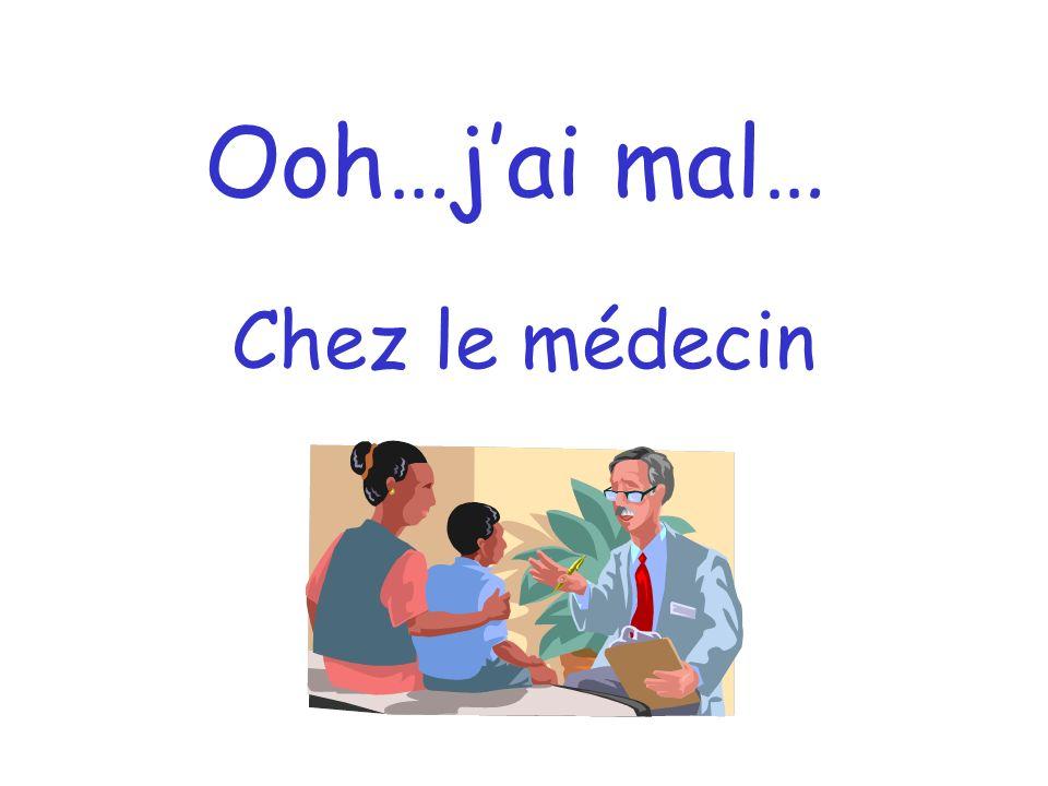 Ooh…jai mal… Chez le médecin