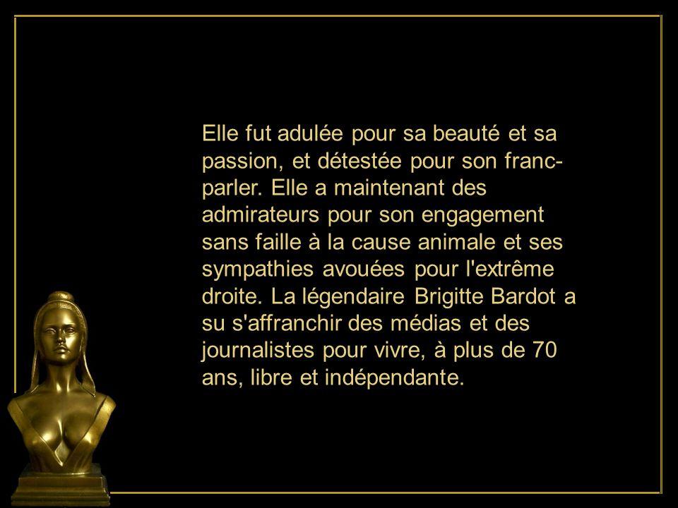 En 1968, le gouvernement de la France demande à Brigitte de servir de modèle pour le buste de Marianne dans toutes les mairies françaises.