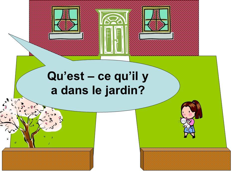 Quest – ce quil y a dans le jardin?
