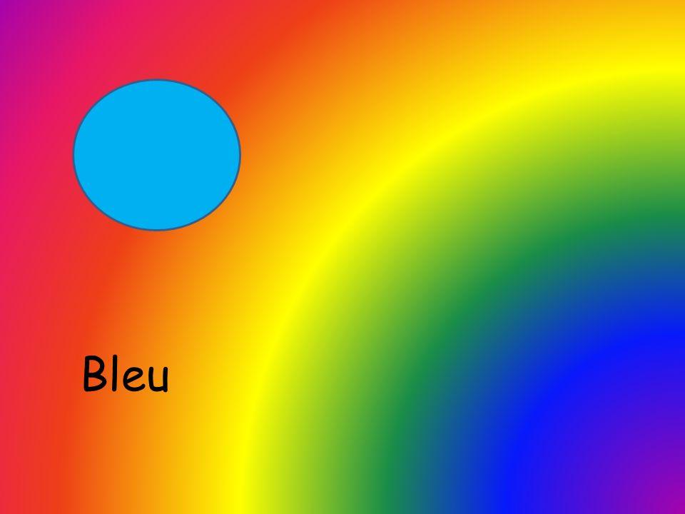 Rouge et orange et jaune et vert, Bleu, violet, rose.