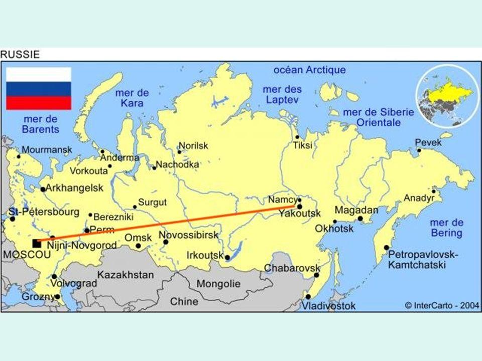 Diese russische Bundesautobahn verläuft von Moskau nach Jakutsk, der Stadt in Sibirien.