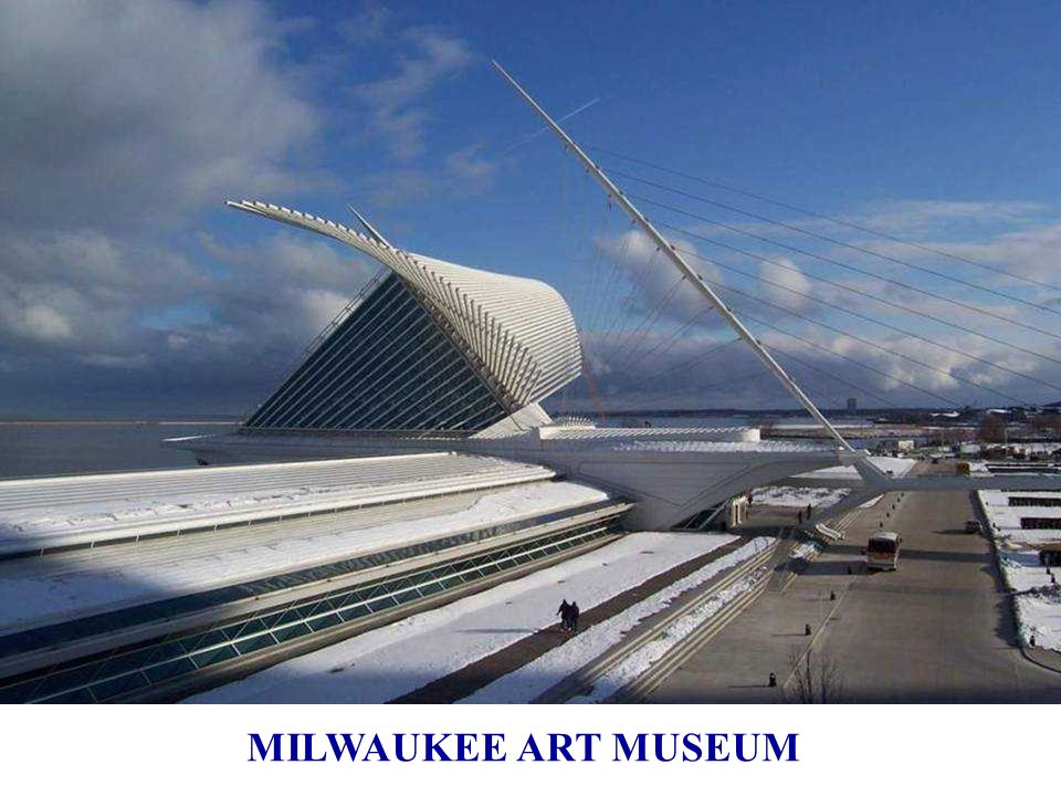 Le Musée d'Art de Milwaukee Wisconsin, 1994 ÷ 2001