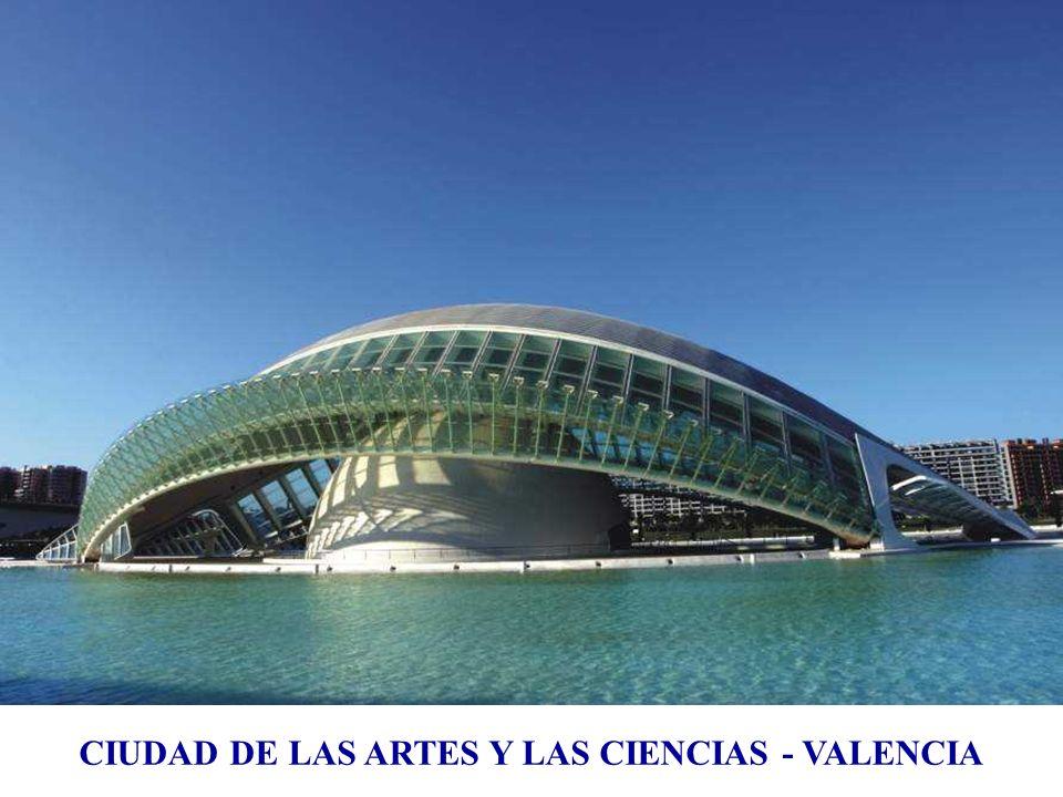 Musée des arts et des sciences Valence, Espagne, 1995 ÷ 2005