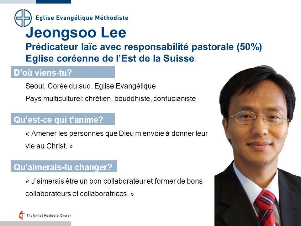 Seoul, Corée du sud. Eglise Evangélique Pays multiculturel: chrétien, bouddhiste, confucianiste Doù viens-tu? Quest-ce qui tanime? Quaimerais-tu chang