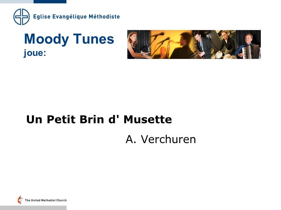 Moody Tunes joue: Un Petit Brin d' Musette A. Verchuren