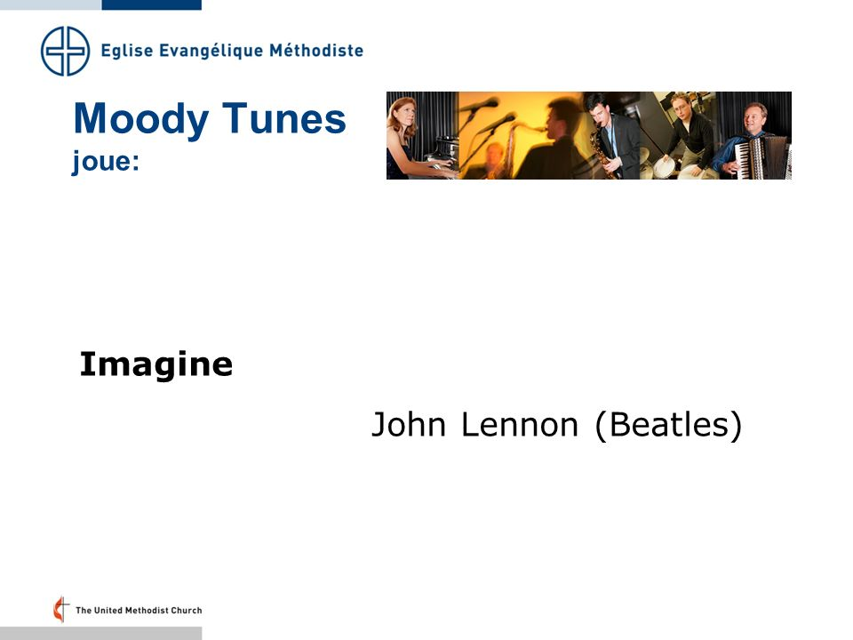 Moody Tunes joue: Imagine John Lennon (Beatles)