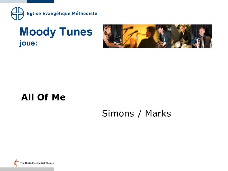 Moody Tunes joue: All Of Me Simons / Marks