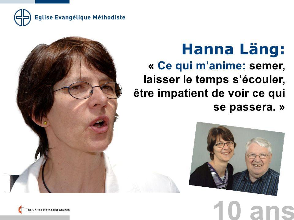 Hanna Läng: « Ce qui manime: semer, laisser le temps sécouler, être impatient de voir ce qui se passera. » 10 ans