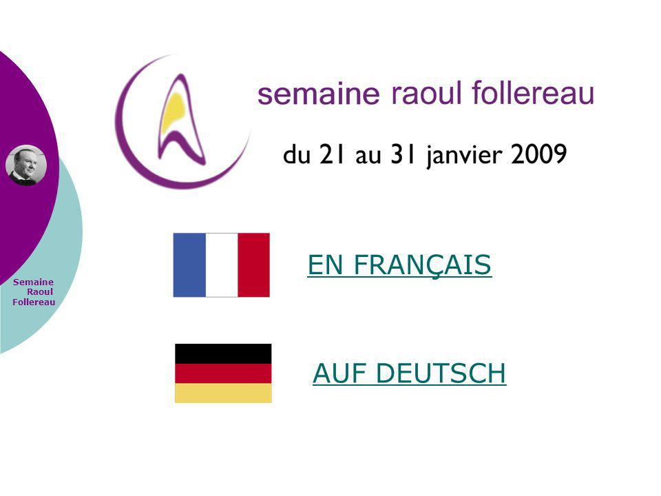 Semaine Raoul Follereau EN FRANÇAIS AUF DEUTSCH