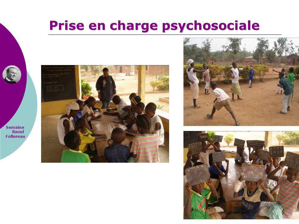 Semaine Raoul Follereau Prise en charge psychosociale