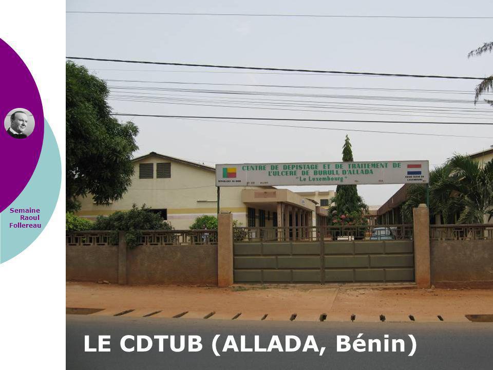 Semaine Raoul Follereau LE CDTUB (ALLADA, Bénin)