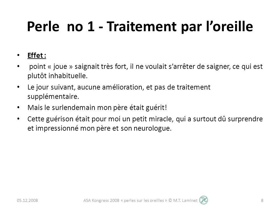 Perle no 4 - Loreille comme perle diagnostic 2.