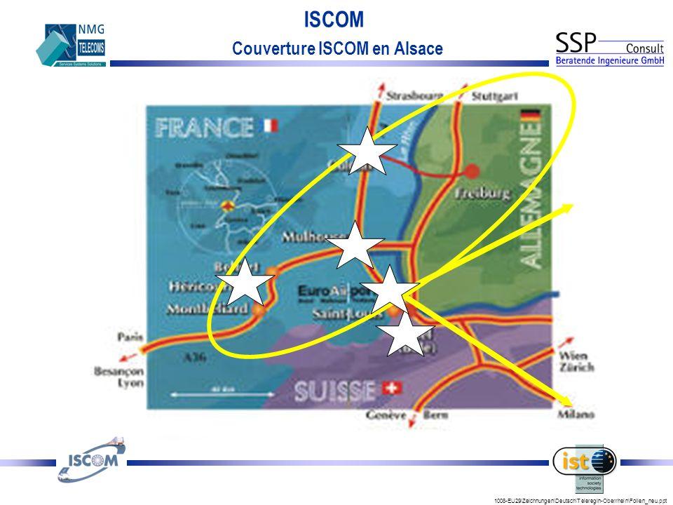 1008-EU29\Zeichnungen\Deutsch\Teleregin-Oberrhein\Folien_neu.ppt ISCOM Couverture ISCOM en Alsace