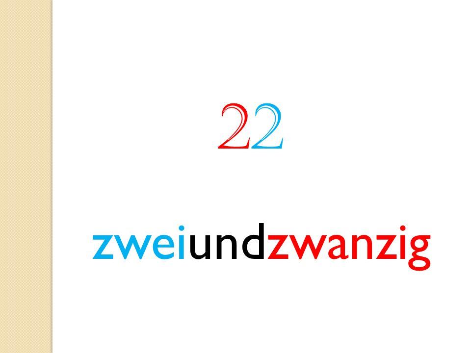 2 zweiundzwanzig