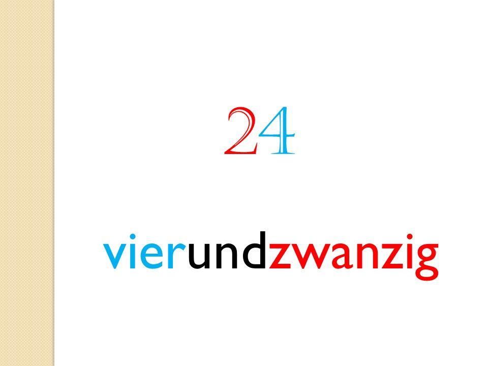 2424 vierundzwanzig
