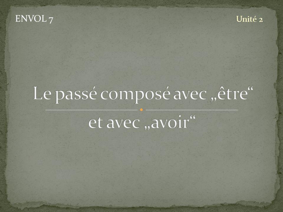 ENVOL 7 Unité 2