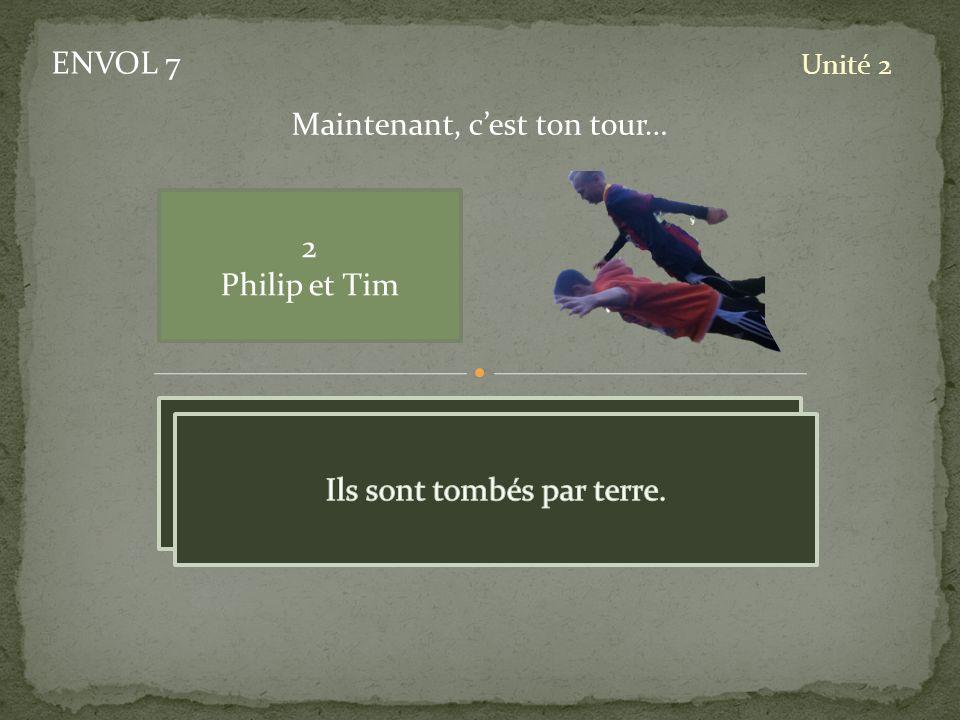 ENVOL 7 Unité 2 2 Philip et Tim Maintenant, cest ton tour…
