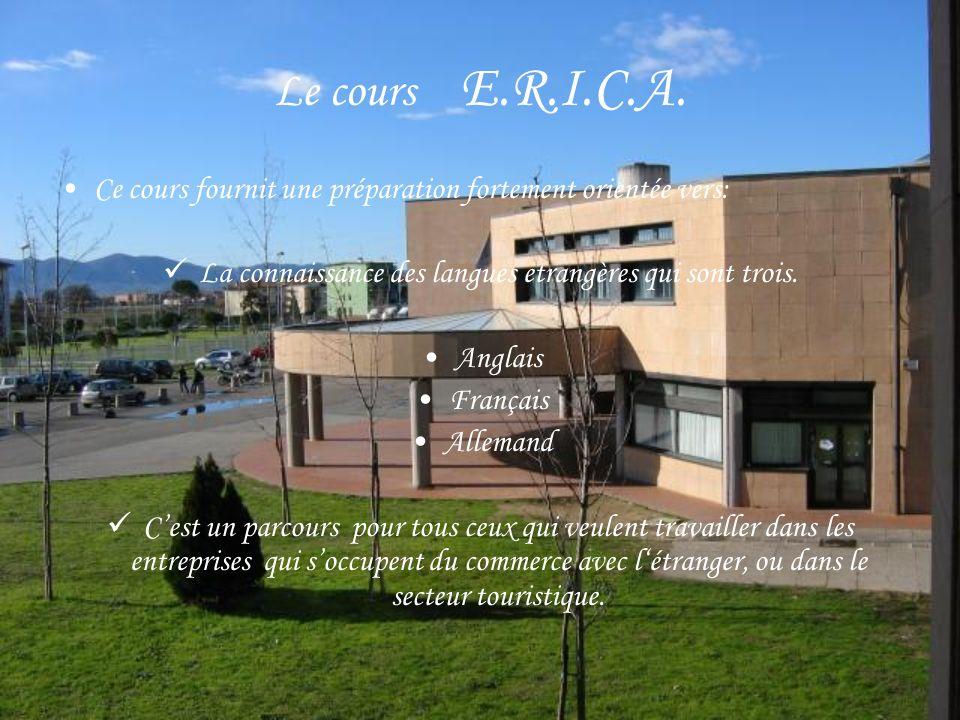 Le cours E.R.I.C.A.