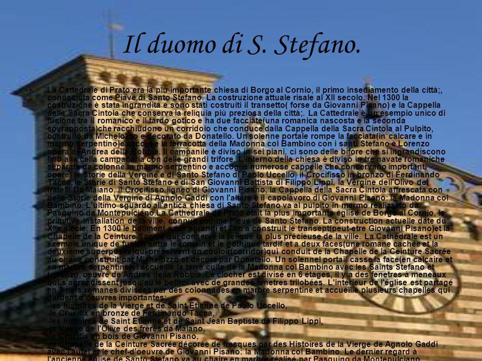 Il duomo di S.Stefano.