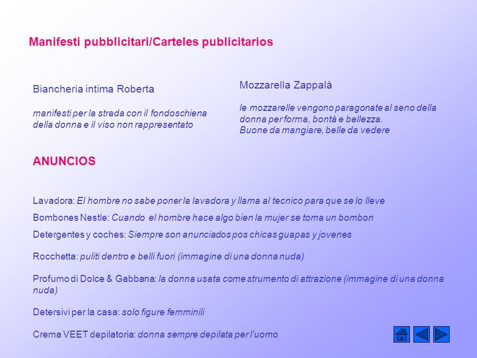 Manifesti pubblicitari/Carteles publicitarios Mozzarella Zappalà le mozzarelle vengono paragonate al seno della donna per forma, bontà e bellezza.