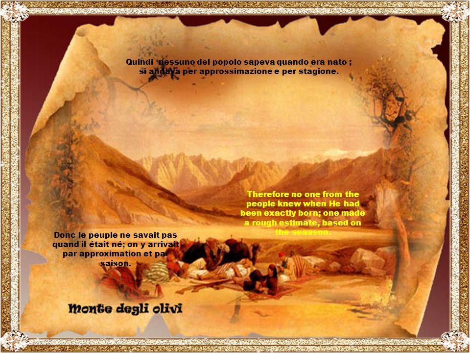 Ricordiamoci che il parto di cui parliamo é avvenuto pi ù di 2000 anni fa … ll Calendario e l Anagrafe come li conosciamo noi non esistevano.