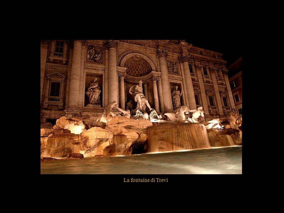 La fontaine di Trevi